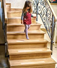 Non-Slip Clear Stair Treads - 15 Pack Outdoor & Indoor Adhesive Strips for Stairs 4