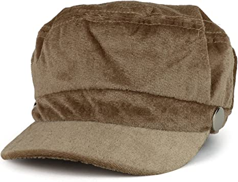 Damen Stilvolle Wollfilz Baker Boy Cap PU Schirmm/ütze Newsboy Winterm/ütze Fiddler Cap Cabbie Cloche Hat Satin gef/üttert S//M
