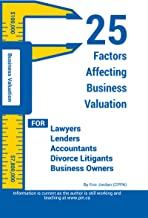 25 Factors Affecting Business Valuation
