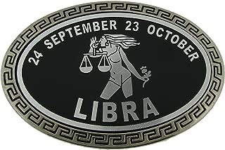 Zodiac Sign With Bottle Opener Belt Buckle Astrology Horoscope Metal Fashion New