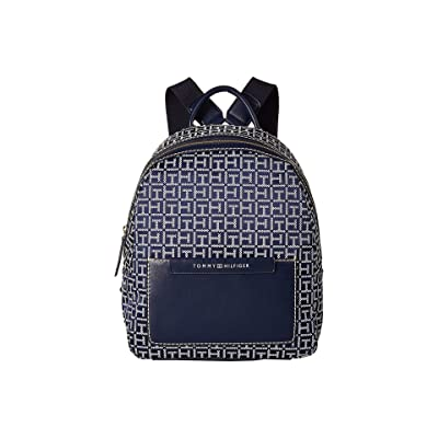 Tommy Hilfiger Jackie Backpack (Navy/White) Backpack Bags