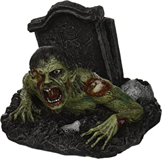 PTC 9602 Zombie Hand Painted Cold Cast Resin Name Card Holder, 4.06
