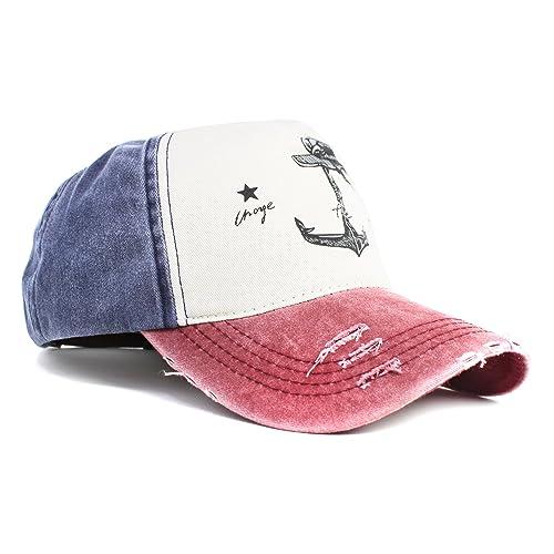 Selldorado® - Gorra de béisbol retro, ...