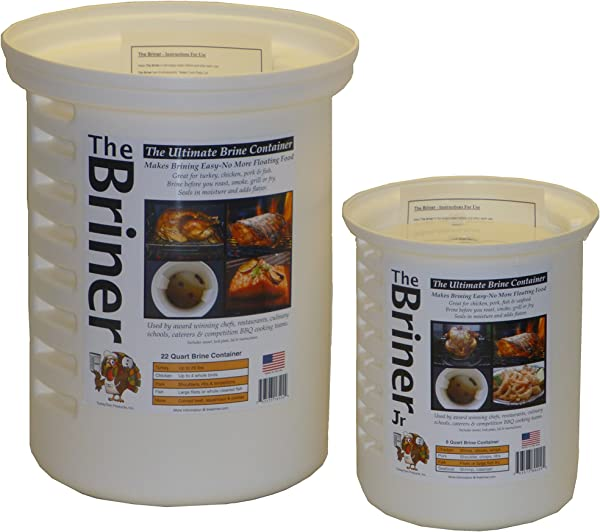 The Briner The Ultimate Brine Container 2 22 Qt 8 Qt