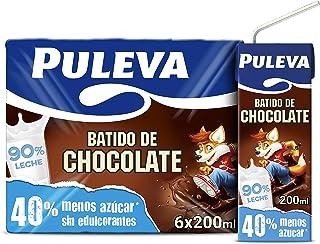 Puleva Batido de Chocolate - Pack de 6 x 200 ml - Total: 1200 ml