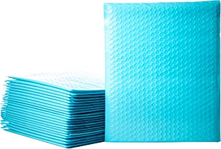 Empire Mailers #5 10.5 x 16-inch Pastel Blue Padded Envelopes, Self Seal Mailers, Bubble-Lined Shipping Envelopes, Mail-Approved Poly Bubble Mailers, Self-Sealed Mailing Packages, Pack of 25