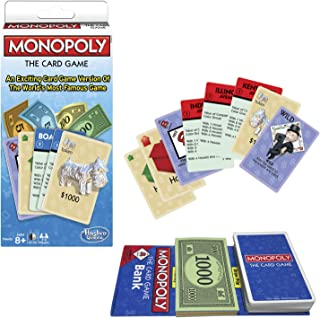 Winning Moves Games Monopoly The Card Game Monopoly & Rummy, Blue