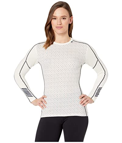 Helly Hansen Lifa Merino Graphic Crew (Off-White) Women