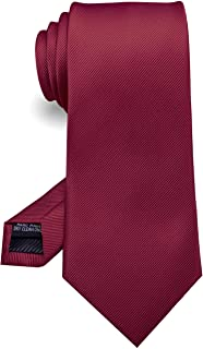 "JEMYGINS 3.15"" Solid Color Tie Formal Necktie for Men (8cm)"