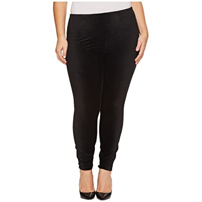 Lysse Plus Size Corduroy Leggings (Black) Women