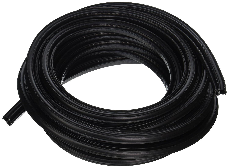 "100/' Length Trim-Lok Trim Seal with Side Bulb Fits 1//8/"" Edge 7//16/"" Bulb Seal Diameter PVC Plastic Trim with EPDM Rubber Bulb Seal"