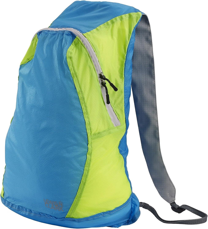 Lewis N. Clark ElectroLight Backpack (Blau Neon Grün) by Lewis N. Clark