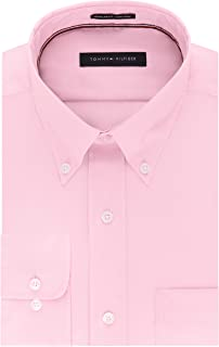 Men's Regular Fit Non Iron Solid Button Down Collar