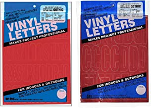 Duro Decal Permanent Adhesive Vinyl Letters & Numbers: 2