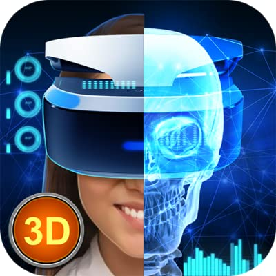 X-Ray Scanner: Virtual Reality Helmet Heroes   Color the World and Prank Your Friends Augmented Reality