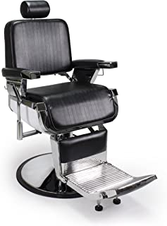 Heavy Duty All Purpose Hydraulic Recline Barber Chair Shampoo 360 Swivel Professional Vintage Salon Spa Chair