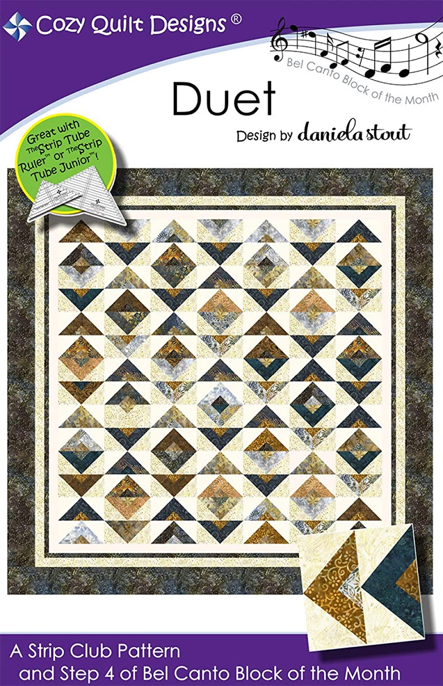 Cozy Quilt Designs CQD01204 Duet Step 4 of Bel Canto Bom Pattern