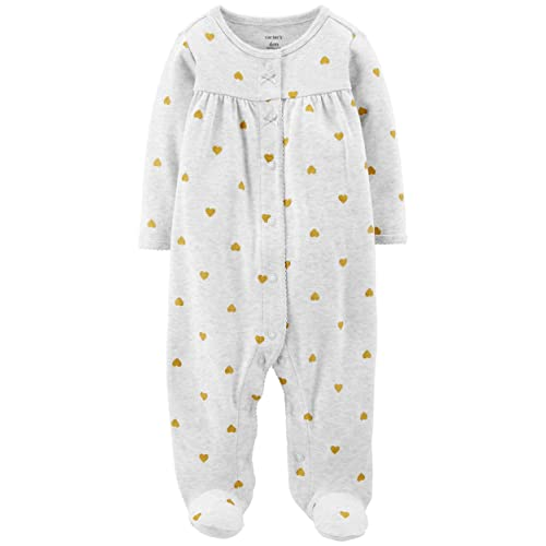 fc88489a95a3 Baby One Piece Sleeper with Snaps  Amazon.com