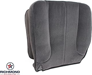 Richmond Auto Upholstery 2003 2004 Dodge Ram 1500 2500 3500 SLT -Driver Side Bottom Cloth Seat Cover Gray