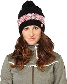 Roxy Flower Power Knit Beanie Hat