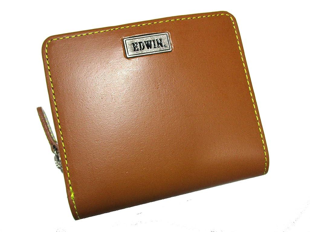 政令アグネスグレイ抵抗力があるEDWIN(エドウィン) ブランド メンズ スペシャルバージョン 財布 二つ折り ラウンド イタリアンレザー カラーステッチがとってもおしゃれでポップなデザイン プレゼントにも最適?(The Little)