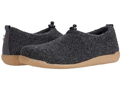Sanita Lodge Shoe (Charcoal) Shoes