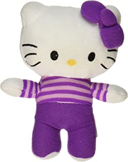 "Fiesta Toys 6"" Hello Kitty Plush in Purple Outfit"