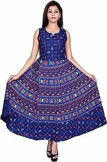 6TH AVENUE STREETWEAR Cotton Women's Cotton Dress (Free Size)