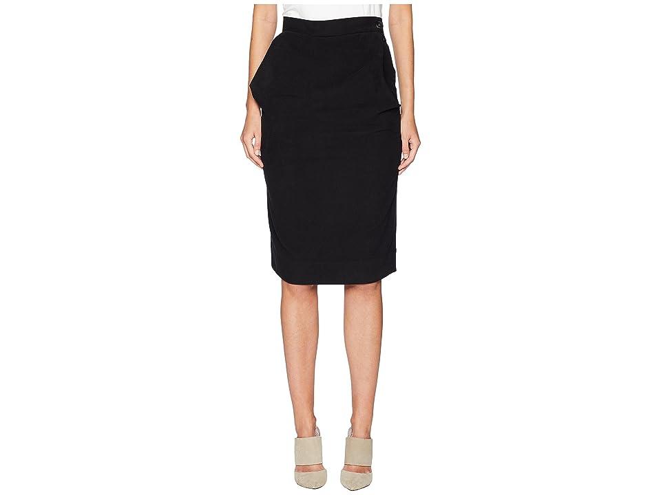 Vivienne Westwood - Vivienne Westwood Alcoholic Moleskin Cinched Skirt