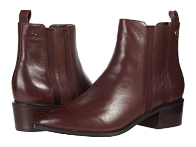 Cole Haan Valorie Bootie (45 mm) (Deep Mahogany Pricess Leather) Women