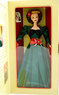 Holiday Sensation Barbie - 1998 - Hallmark Gold Crown Exclusive - Holiday Homecoming Collector Series - Special Edition - 1940's Dress - Limited Edition - Collectible