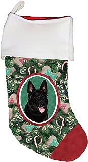 Best of Breed German Shepherd Black Dog Breed Christmas Stocking