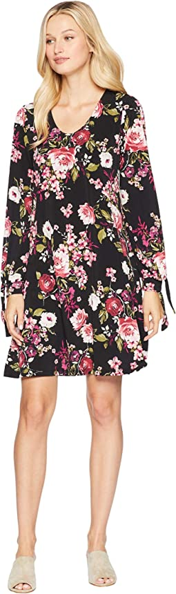 Tie-Sleeve Taylor Dress