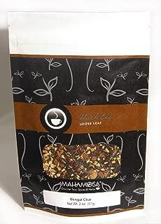 Mahamosa Black Chai Tea Loose Leaf (Looseleaf) - Bengal Chai 2 oz