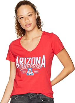 Arizona Wildcats University V-Neck Tee