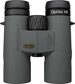 Meopta Optika HD 10x42 - Premium European Optics - Magnesium Chassis, HD Glass, Wide Field of View, Anti-Scratch & Hyrdophobic Coating + Removable Eyecups #653505 (10x42)