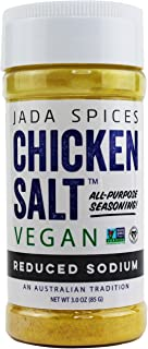 Vegan Chicken Salt Reduced Sodium - NON GMO, Gluten Free, MSG Free