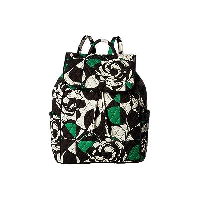 Vera Bradley Drawstring Backpack (Imperial Rose) Backpack Bags