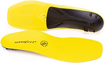Superfeet, CARBON Pro Hockey, Carbon Fiber Professional Performance Hockey Skate Insoles, Unisex, Blaze Yellow