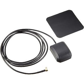 Movaics  ゴリラ (gorilla) ミニゴリラ ゴリラライト 高感度 GPSアンテナ コード長1.5M + 感度アッププレート付(GPS1-1.5) 純正品番 CA-PN20D、NVP-N20 代用品
