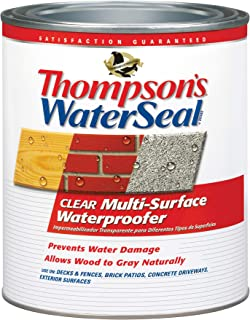 Thompsons TH.024104-14 Clear Multi-Surface Waterproofer, Quart,