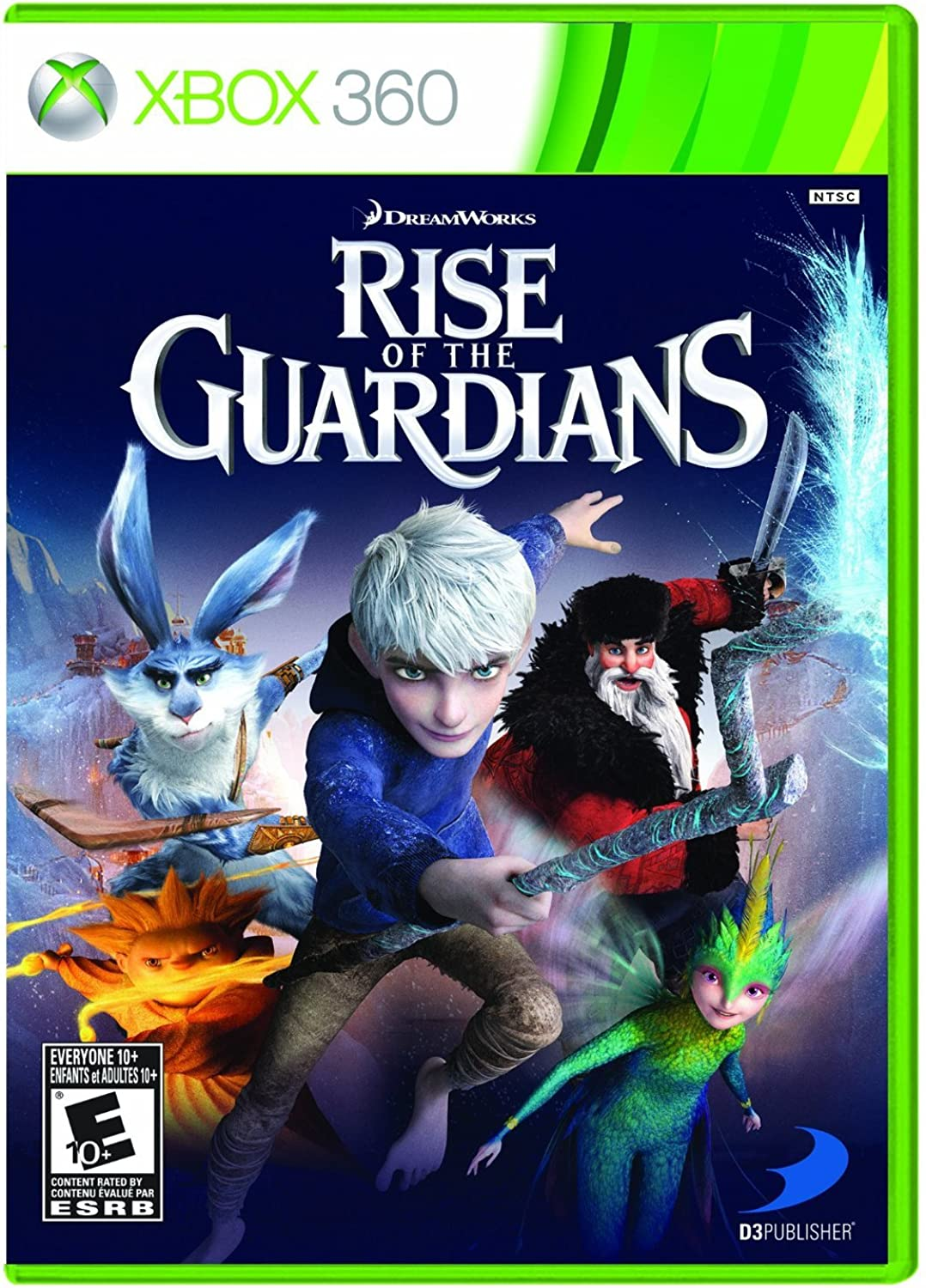 Rise of the Guardians  The Video Game  Xbox 360