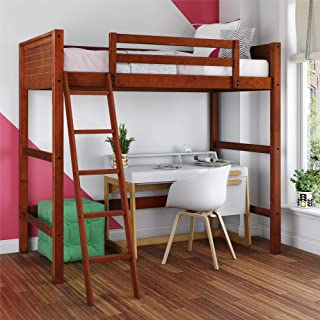 Dorel Living DL2906WN-DC Moon Bay Loft Bed, Twin, Walnut