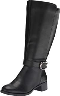 Easy Street Women's Fashion Boot, Black, 10W US