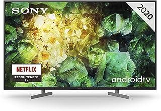 Sony KD-43XH8196 - Televisor Smart TV 4K HDR (Android TV, Inteligencia Artificial; procesador X1 4K HDR, Triluminos, 4K X-Reality PRO, Dolby Vision, Dolby Atmos, calibración caIMAN, control por voz)