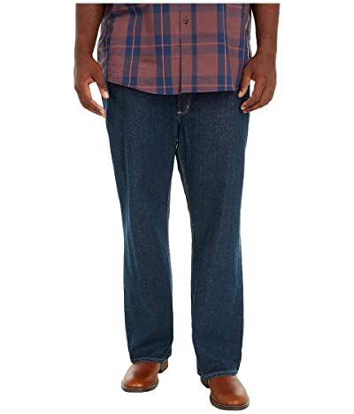 Carhartt Big Tall Flame-Resistant Rugged Flex Jeans Straight Fit (Deep Indigo Wash) Men
