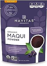 Navitas Organics Maqui Powder, 3 oz. Pouch, 17 Servings — Organic, Non-GMO, Freeze-Dried, Gluten-Free