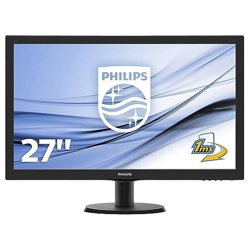 "Philips 273V5LHAB/00 Ecran PC LED 27"" (68,58 cm) 1920x1080 5 ms HDMI/DVI/VGA"