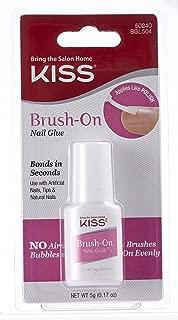 Kiss Brush-On Nail Glue 0.17oz