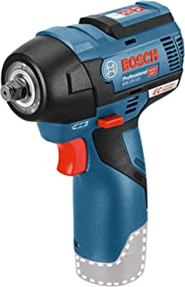Bosch Professional 12V System snoerloze slagmoersleutel GDS 12V-115 (max. koppel 115 Nm, slagtoerental 0-3.100 bpm, zonder...